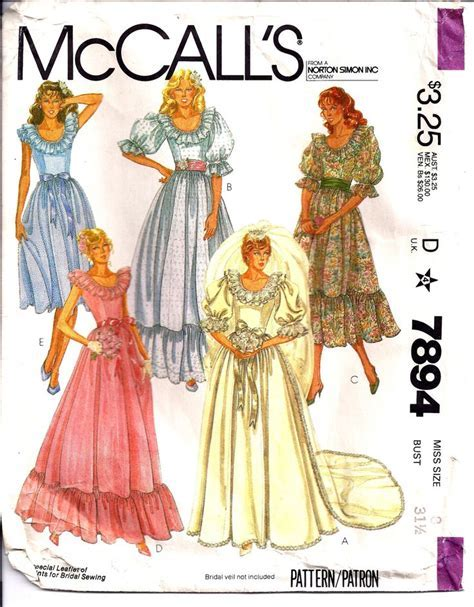 17 Best images about Vintage Bridal Patterns on Pinterest