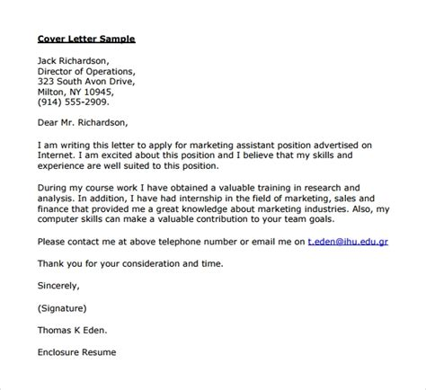 9 Director Of Operations Cover Letters To Download Sle Templates Operation Child Letter Template