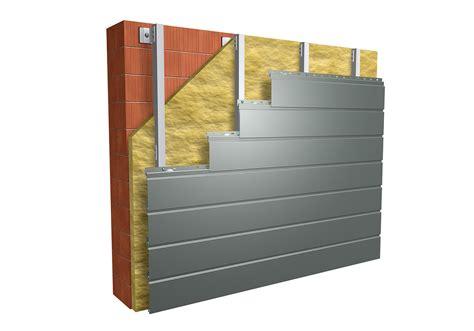 horizontale fassade siding prefa