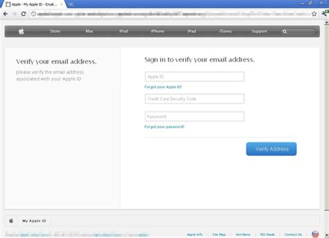apple id login fake apple id login pages show up on over 100 compromised