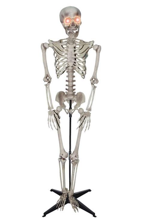 Figure Led Foots Heckbilly realistic skeleton standing figure skeleton with led for karneval universe