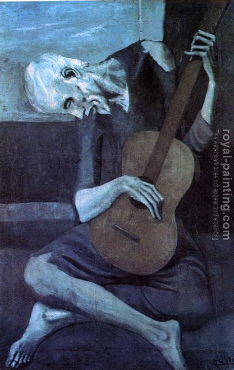 picasso paintings in order the guitarist by pablo picasso quotes