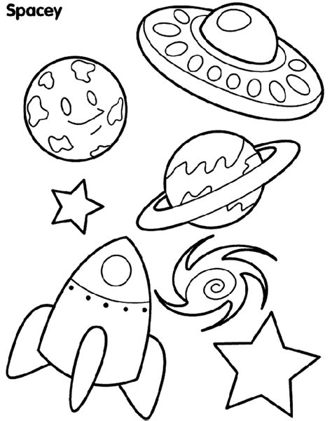 coloring pages free crayola spacey shapes coloring page crayola