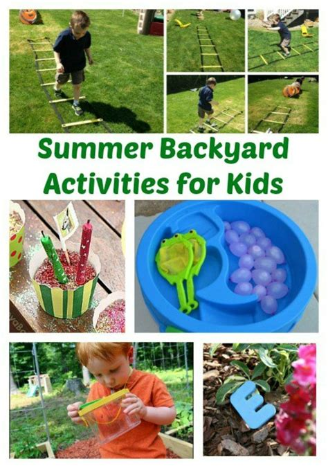 backyard science games 7895 best images about sensory activities for kids on