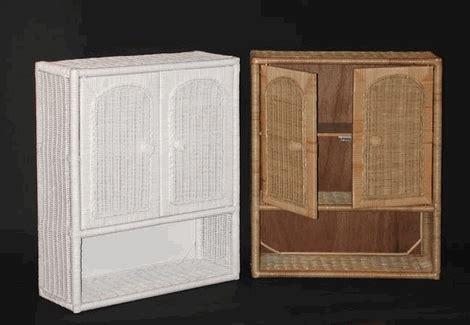 medicine cabinet with wicker baskets 43 best wicker bathroom furniture images on pinterest