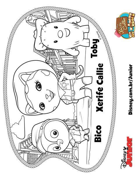 free coloring pages of sheriff callie
