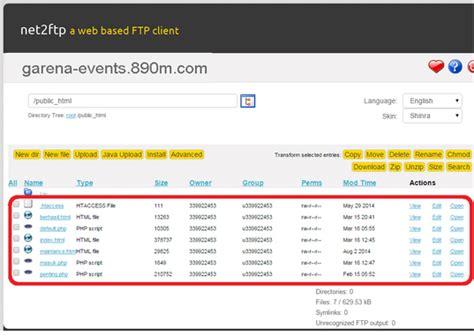 tutorial bobol website cara membuat phising tukar kode point blank garena gratis