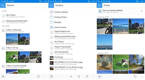 dropbox upgrade uwp app dropbox for windows 10 updated with lots of new