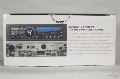 nzxt touch screen fan controller nzxt sentry 3 touch screen fan controller review modders inc