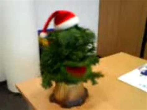 singender weihnachtsbaum youtube