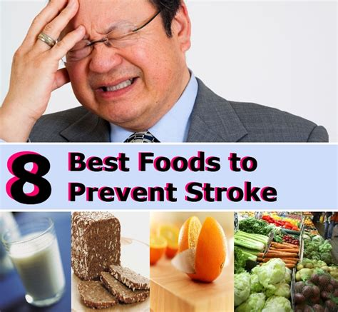 7 Ways To Avoid A Stroke by 8 Best Foods To Prevent Stroke Diy Home Remedies