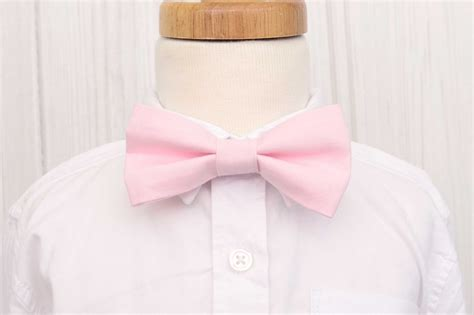 blush pink bow tie labor of baby boutique