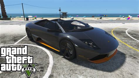 inside lamborghini murcielago gta 5 lamborghini murcielago lp650 4 roadster add on mod