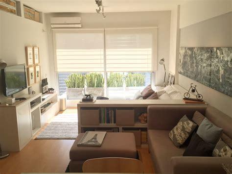 como decorar un estudio de 40 metros cocina sal 243 n comedor y dormitorio en 32 m2 mi casa