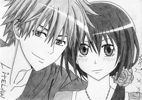 imagenes anime a lapiz una selecci 243 n de dibujos de anime y manga hechos por mi