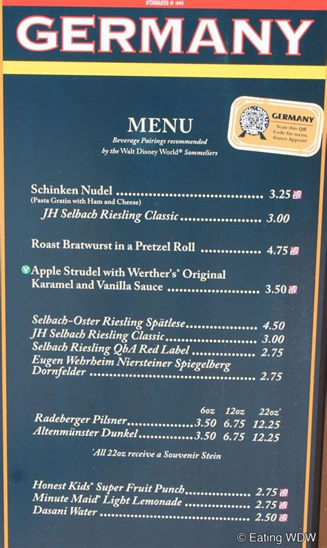 german cuisine menu pin by sharpe on disney