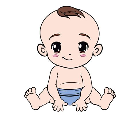 baby doodle drawings how to draw a baby in a few easy steps easy drawing guides