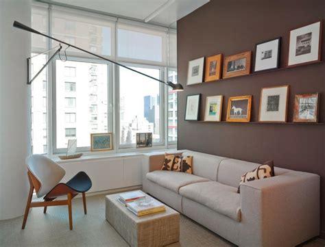 wohnzimmer zu klein wandgestaltung in braun 50 wohnzimmer wohnideen