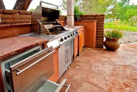 kleine outdoor küche ideen outdoor k 252 che grill