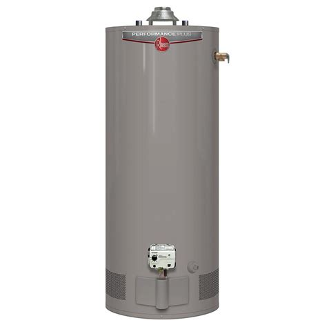 rheem performance plus 40 gal 9 year 38 000 btu