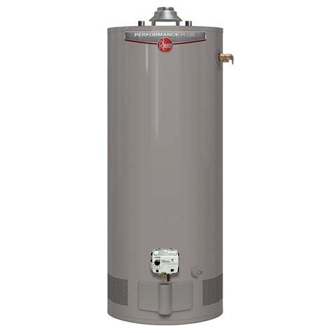 Rheem Performance Plus 40 Gal. Short 9 Year 38,000 BTU High Efficiency Natural Gas Water Heater