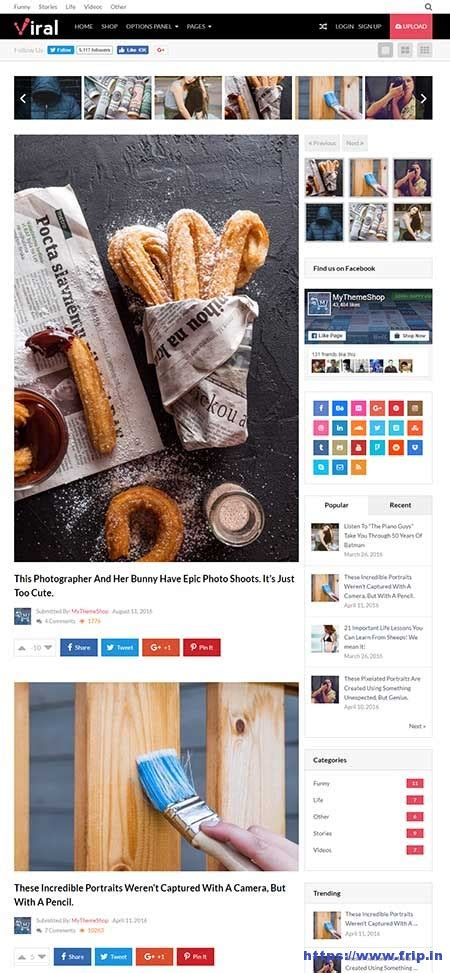 themes wordpress viral viral wordpress theme by mythemeshop themes frip in