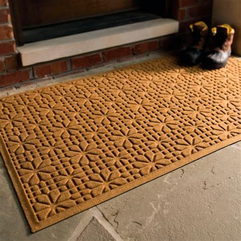 Frontgate Front Door Mats Water Dirt Shield Stained Glass Door Mat Frontgate