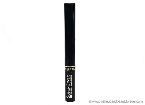 Harga L Oreal Liner Black Lacquer l oreal liner black lacquer black vinyl review