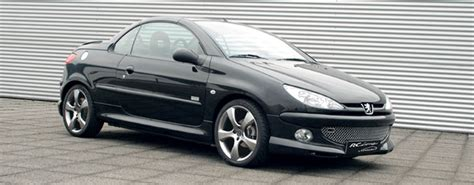 peugeot open top 100 peugeot 206 cc modified peugeot 206cc 2005