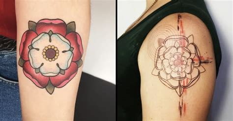 lancashire rose tattoo emblems the heraldic tudor tattoodo