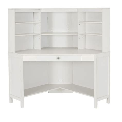 white desks with hutch 1000 ideas about corner desk with hutch on