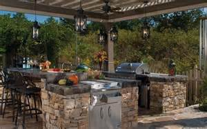 outdoor kitchen ideas on a budget little house in the valley