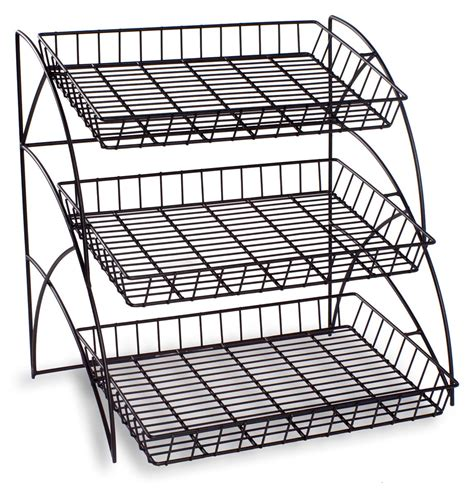 Wire Display Racks by 3 Wire Tray Display Rack Food Retail Display