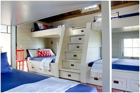 Bunk Beds With Drawers Built In 10 Built In Bunk Bed Rooms With Clever Use Of Space