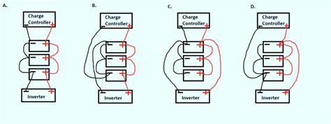 wiring a small solar battery bank solar panels solar