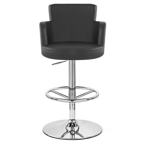 bar stools chrome chateau adjustable height swivel bar stool with chrome
