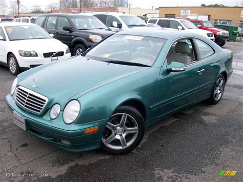 green mercedes 2002 mineral green metallic mercedes clk 320 coupe