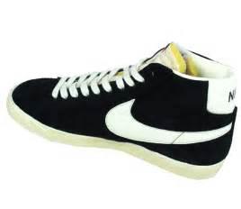 nike shoes mens blazer hi mid black