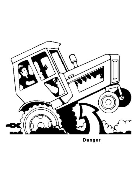 tractor coloring page online free coloring pages of new holland tractor