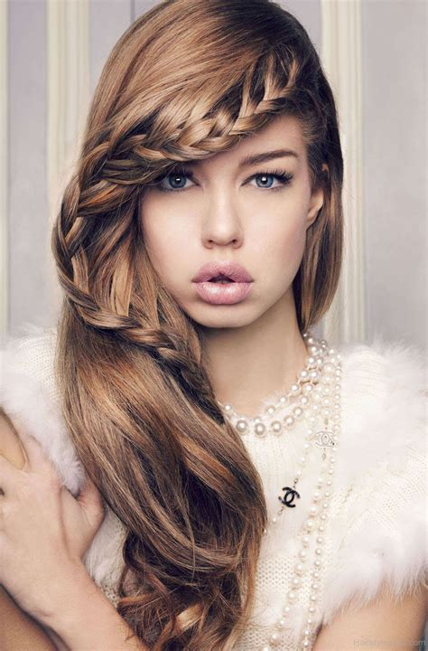 hairstyles for with hair brides hairstyles