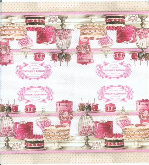 Sale Paper Napkin Dainty Made In Germany decoupage paper napkins of patisserie confiserie pastries cupcakes cakes