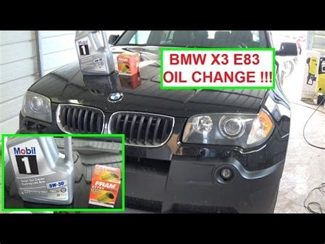 bmw   oil change   change  oil   bmw