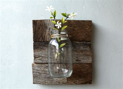 how to make a mason jar l how to make a rustic vase using mason jars 7 steps