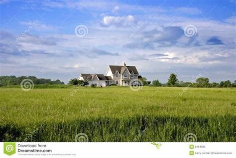 country home with land royalty free stock photo image
