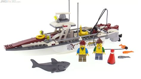 lego boat movie lego city 2017 fishing boat review 60147 youtube