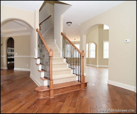Types Of Kitchen Flooring Ideas eight staircase flooring options cary nc new home types