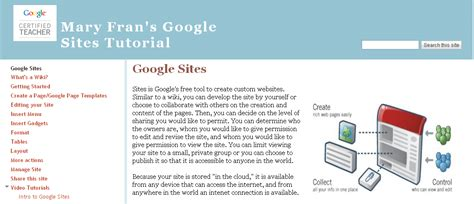 tutorial blogger google great tutorial on google sites