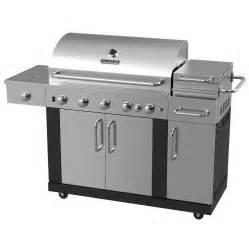 Backyard Grill Cover Shop Master Forge New Outdoor Kitchen 5 Burner 60 000 Btu