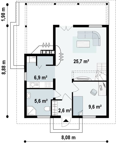 planos casas americanas plano planta baja casa americana 1 casas prefabricadas