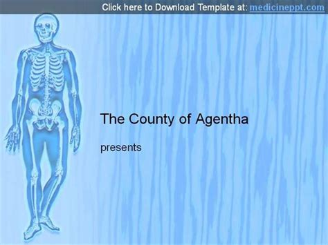 bone powerpoint template free human skeleton powerpoint template authorstream